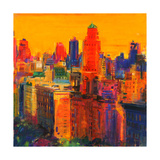 Fifth and Madison Giclee Print by Peter Graham