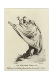The Magician Balaam Giclee Print by Henry Fuseli