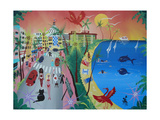 Oceandrive, Miami, 2012 Giclee Print by Herbert Hofer