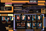 Star Trek Next Generation Cast Posters