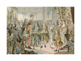 The Coronation of Frederick I of Prussia Giclee Print by Carl Rohling