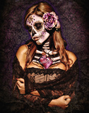 Day Of The Dead Lámina por Daveed Benito