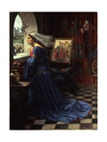 Fair Rosamund, 1916 Giclee Print by John William Waterhouse