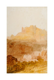 Durham Castle, 1801 Giclee Print by J. M. W. Turner