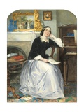 The Love Token Giclee Print by Frederick Walker