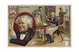 Michel Eugene Chevreul, French Chemist Giclee Print