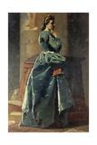 The Woman in Green Giclee Print by Federico Faruffini