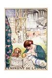 L'Emprunt De La Paix Pub. Paris C.1918 Giclee Print by Henri Lebasque
