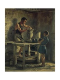The Potters, 1873 Giclee Print by Filippo Palizzi