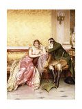 Her Suitor Giclee Print by Joseph Frederic Soulacroix