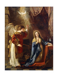 The Annunciation Giclee Print by Gaspar de Crayer