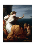 Ariadne Abandoned by Theseus Giclee Print by Angelica Kauffmann