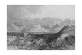 Ephesus, the Castle of Aiasaluk in the Distance Giclee Print by Thomas Allom