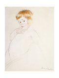 Study for the Baby for the Caress, C.1902 Giclee Print by Mary Cassatt
