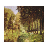 Resting by the Brook, 1878 Giclee Print by Alfred Sisley