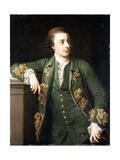 Portrait of Thomas Fortescue. M.P. Giclée-tryk af Pompeo Girolamo Batoni
