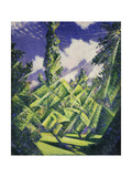 The Four Seasons: Summer, C.1919 Giclee Print by Christopher Richard Wynne Nevinson