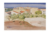 The Roofs of Collioure, C.1925 Giclee Print by Rudolph Ihlee