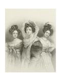 Three Beauties Giclee Print by Henri Grevedon