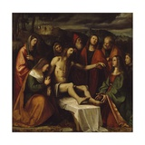 Pieta Giclee Print by Girolamo Romanino