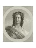 Peasant Girl of Gensano Giclee Print by Thomas Uwins