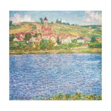 Vetheuil, Afternoon, 1901 Giclee Print by Claude Monet