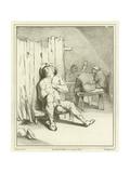 A Sleeping Drunkard Giclee Print by Adriaen Brouwer