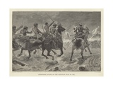Mahsameh, Scene in the Egyptian War of 1882 Giclee Print by Richard Caton II Woodville