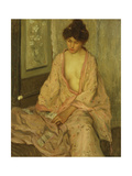 The Pink Kimono Giclee Print by Frederick Carl Frieseke