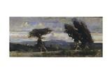 Boscaiole, 1881 Impression giclée par Cristiano Banti