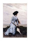 Looking Out to Sea Giclee Print by Charles Hermans