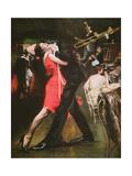 Jazz Club of the 'Roaring Twenties' Giclee Print