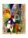 Study of the Team from Cardiff, 1907-13 Giclee Print by Robert Delaunay