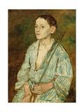 Portrait of a Boy Giclee Print by Eduard Karl Franz von Gebhardt
