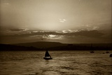 Sunset, Exmouth, 1911 Photographic Print