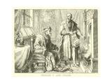 Charles V and Fugger Giclee Print