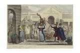 An Early Spree Giclee Print by Isaac Robert Cruikshank
