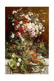 Homage to the Queen of Flowers, 1884 Giclée-Druck von Charles Verlat
