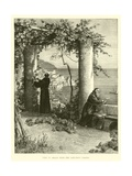 View of Amalfi from the Capuchins' Garden Giclee Print