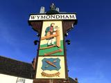 Town Sign, Wymondham, Norfolk Photographic Print