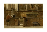 Council Chamber of the Town Hall, Naarden, 1603 Giclee Print by Willem II Steelink