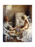 La Toilette of Jean Guerard, 1889 Giclee Print by Norbert Goeneutte