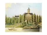 Jatkasaari Island Giclee Print by Wilhelm Johansson