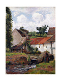 Farm at Osny, 1883 Giclee Print by Paul Gauguin