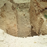 View of the Ruins at Jericho, 8000 Bc Photographic Print