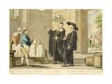 Priest Arlotto Giclee Print by Carlo Lasinio