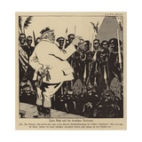 John Bull and the German Colonies, 1918 Giclee Print
