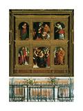 Polyptychh of Novara - San Gaudenzio Polyptychh Giclee Print by Gaudenzio Ferrari