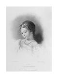 Portrait of Augusta Ada Byron Giclee Print by Frank Stone