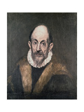 Portrait of a Man, C.1590-1600 Giclee Print by El Greco